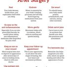 Minimize scarring after surgery