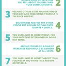 Commandments of being codependent