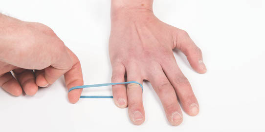 Injury Prevention for Climbers   Collateral Ligament Sprain   Cause  The finger joints are supported