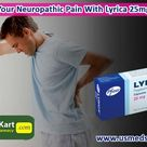 To get relief from neuropathic pain using Lyrica  medicine.