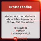 Breast-Feeding Meds Contraindication