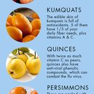 Fruits to keep you healthy in winter. Good to know.