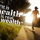 It is #health that is real wealth!