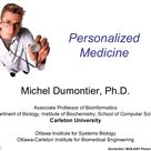 A presentation on personalized medicine to a 4th year biotechnology class at Carleton University.