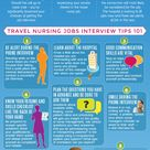 This #infographic will help nurses brush up on phone nursing job interview tips that are effective t