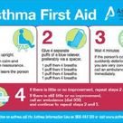 first aid for asthma attack