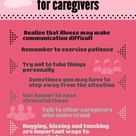 Sometimes, communication can be the hardest thing! Here are some tips to help caregivers.: