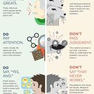 The do's and don'ts of creativity