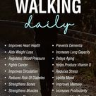 most health professionals prefer walking over running as it is a low-impact exercise that goes easy