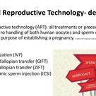 Assisted Reproductive Technology - definition
