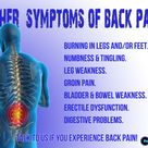 Subluxations in the back doesn't just cause back pain
