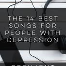 The 14 Best Songs for People with Depression #depression #mentalhealth #recovery