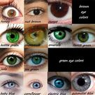 Eye color is a polygenic phenotypic character determined by two distinct factors