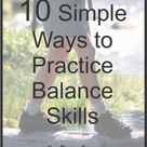 Your Therapy Source - 10 Simple Ways to Work on Balance