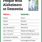 Share this pix with those who have family or friends affected by Alzheimers or dementia. This inform