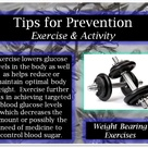 Tips for Prevention: Exercise & Activity