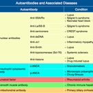 Autoantibodies and Associated Diseases