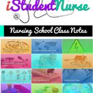 Nursing School Class Notes from iStudentNurse: A collection NCLEX-RN enahnced notes composed by nurs