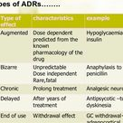 Drug allergy reaction adverse bizarre