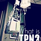 What is TPN? How does this method of intravenous feeding help a patient with Crohn's disease or ulce