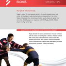 Rugby Injuries | Rugby Injury Prevention & Treatment