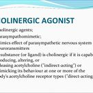 Cholinergic drugs thea
