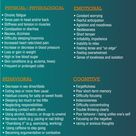 Signs and effects of stress on the body