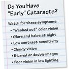 Signs of early cataracts - AllAboutVision.com