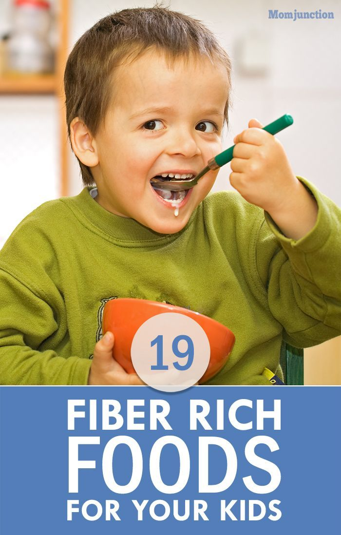19 Best Fiber Rich Foods For Your Kids:Here, we talk about what fiber is, some fiber-rich foods, the