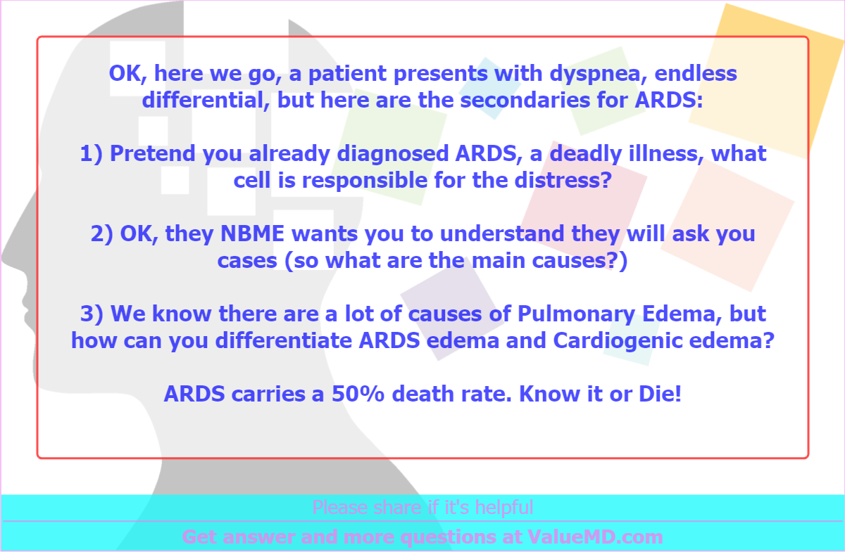 Heres What We Know About Causes Of >> Ok Here We Go A Patient Presents With Dyspnea Endless