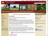 University of Minnesota: Department of Agronomy and Plant Genetics