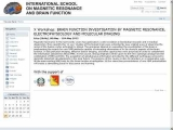 International School on Magnetic Resonance and Brain Function