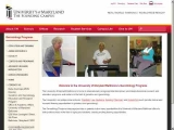 Gerontology Programs at the University of Maryland, Baltimore