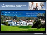 Association of Medical Directors of Information Systems (AMDIS)