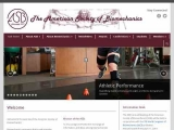American Society of Biomechanics