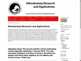 Ethnobotany Research and Applications E-Journal