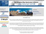 18th International Mass Spectrometry Conference
