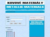 Kovove Materialy - Metallic Materials