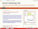 Sumer's Radiology Site