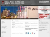 Department of Ophthalmology and Optometry - Texas Tech University